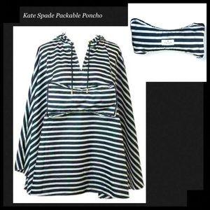 KATE SPADE Rio De Janeiro Packable Rain Poncho